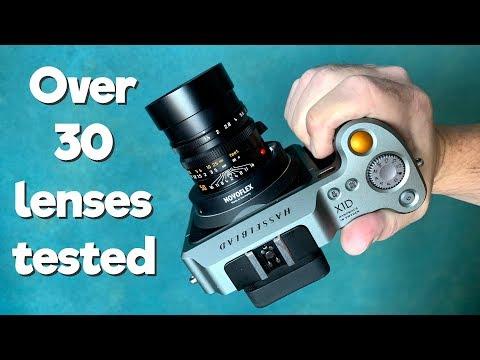 Adapting Dslr  Lenses To Medium Format X1D Camera