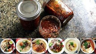 Spicy Garlic Chili Oil | វីធីធ្វើប្រេងខ្ទឹមនឹងម្ទេសហិលឆ្ងាញ់