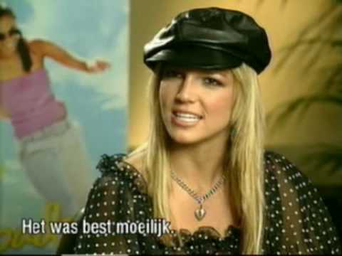 Britney Spears Crossroads Netherlands Press Confrence
