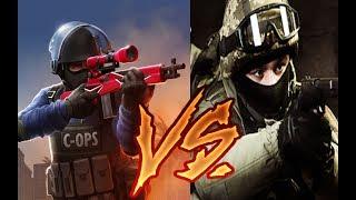 Critical Strike CS: counter terrorist против Critical OPS (Сравнение)🔥🔥🔥