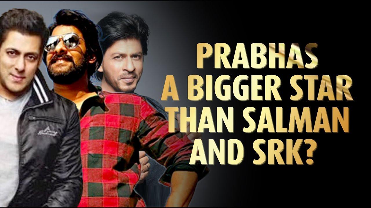 Prabhas reacts on being called a bigger star than Salman Khan
