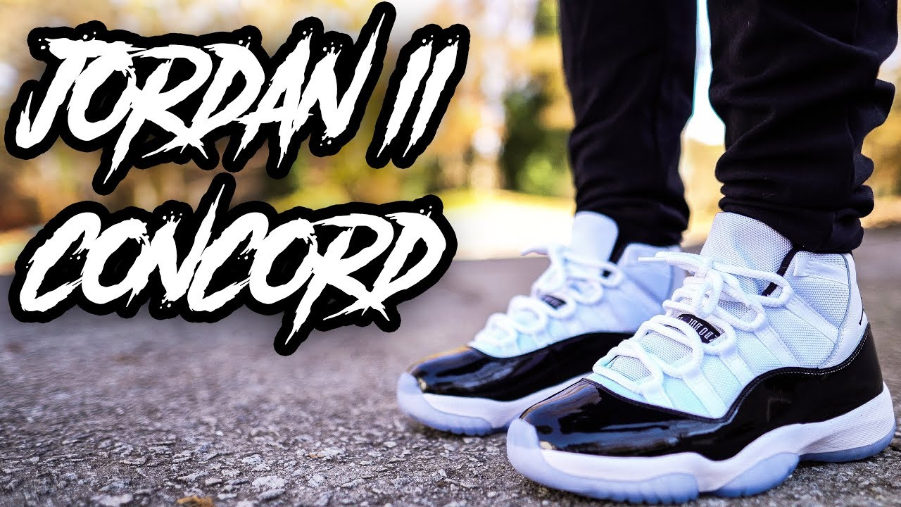 d3feb59265ed 2018 JORDAN 11 CONCORD REVIEW AND ON FOOT IN 4K !!! - YouTube