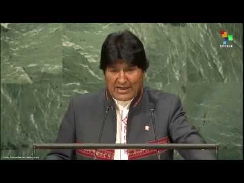 UN Speeches: Bolivian President Evo Morales