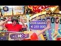 CRAZYTIME - 250.000€ Big WIN (Casino en ligne) - YouTube