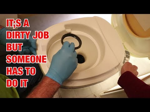 thetford-aqua-magic-iv-ball-seal-replacement-//-caulking-bathroom-floor