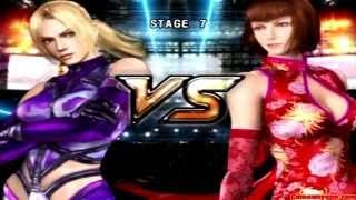 Tekken 5 - Story Battle - Nina Playthrough