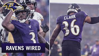 RGIII, Chuck Clark Mic'd Up vs. Steelers   Ravens Wired