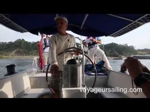 Panama Canal Day 2, Gatun Lake to Balboa