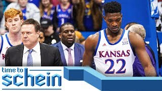 De Sousa suspended indefinitely after Kansas State-Kansas brawl + Zion's NBA debut | Time to Schein