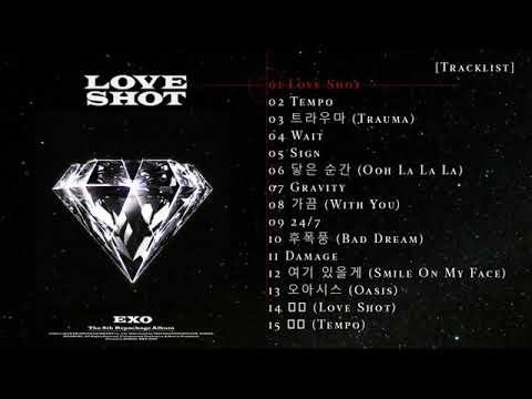 EXO ~ Love Shot [5th Álbum Repackage]