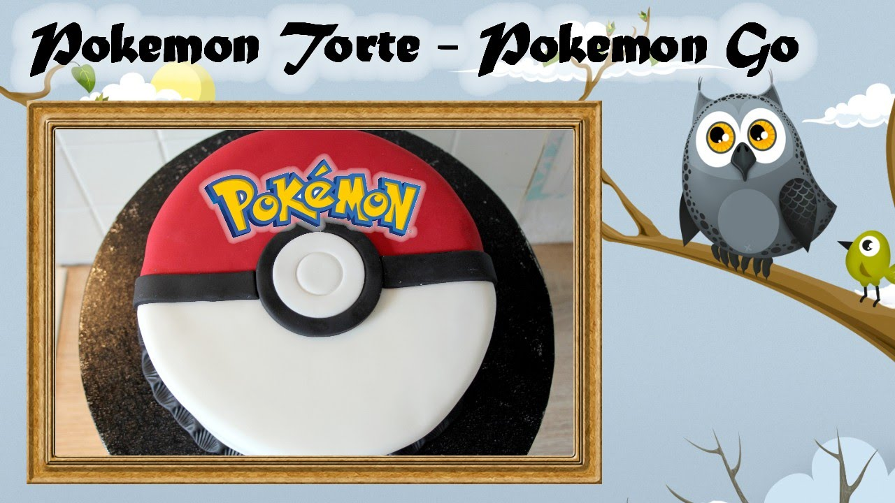 Pokemon Kuchen Rezept Pokemon Torte Pokemon Go Pokeball Torte