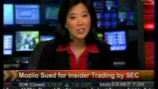 Mozilo Sues For Insider Trading By SEC - Bloomberg