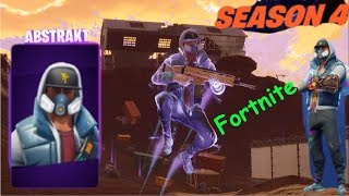 Fortnite Abstract Skin Gameplay! PS4