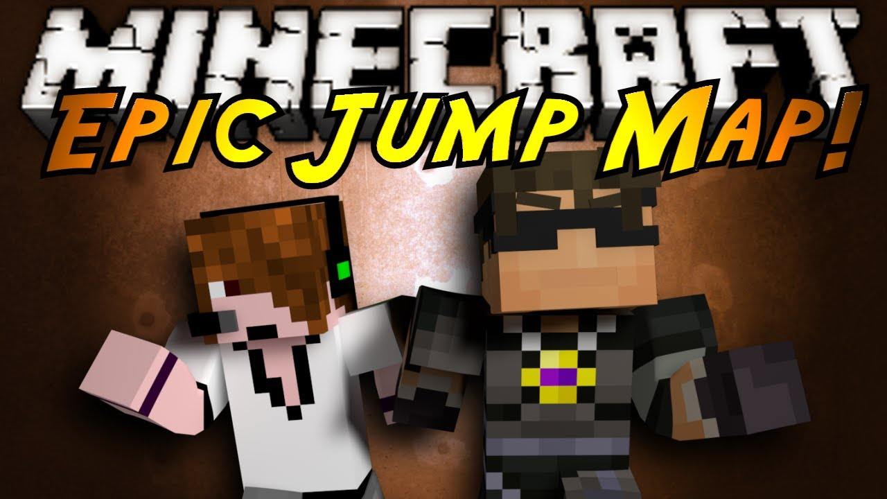 Minecraft Epic Jump Map Part 1 Youtube