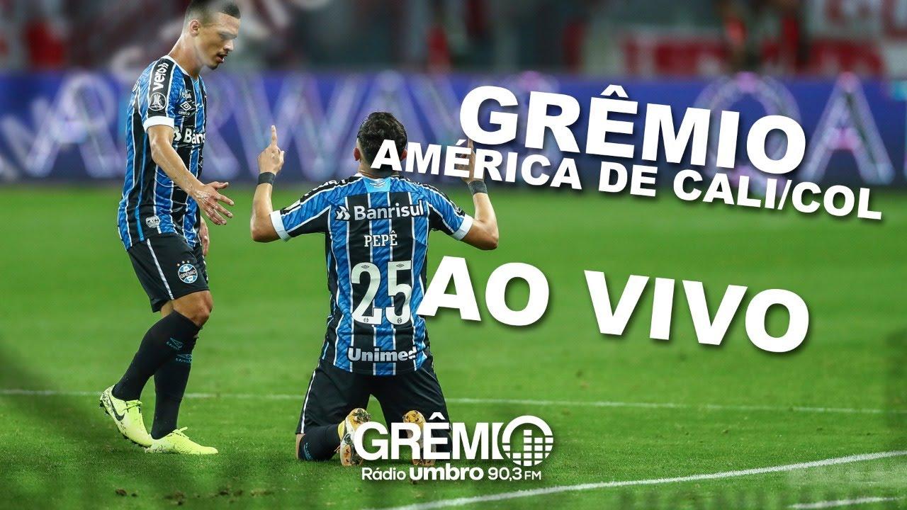 Ao Vivo 360º Gremio X America De Cali Col Libertadores Da America 2020 L Gremiotv Youtube