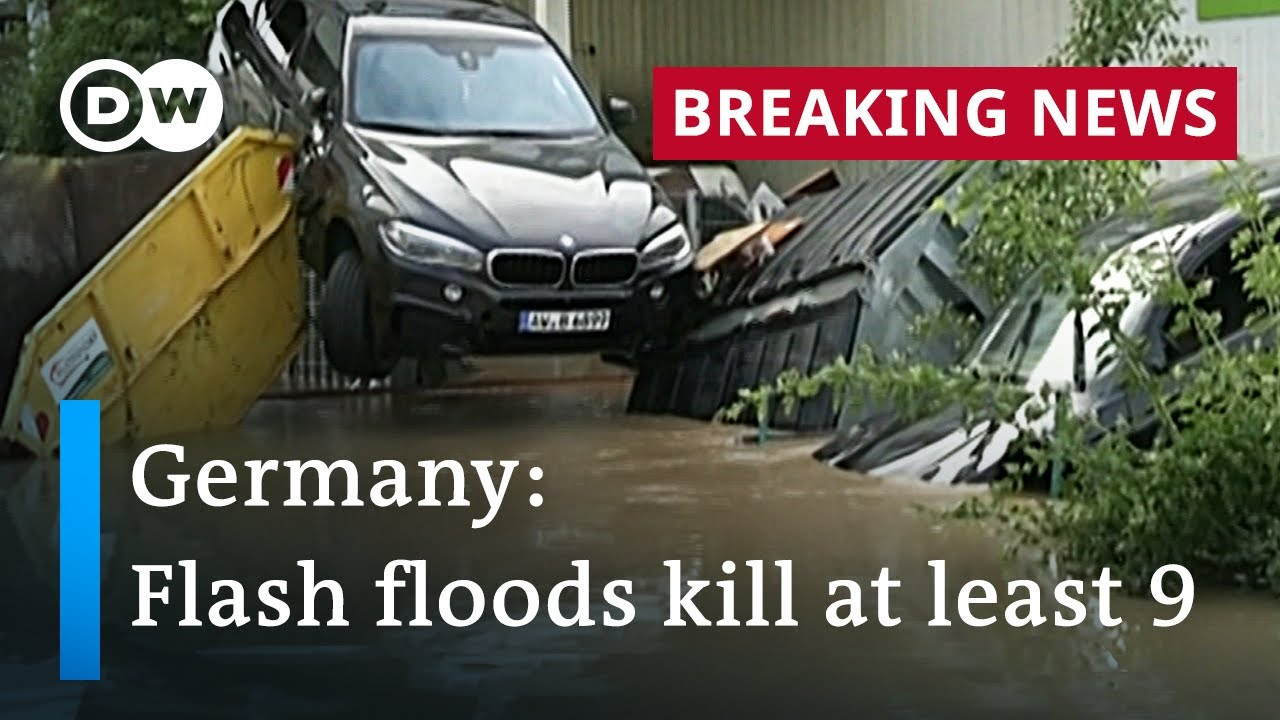 Download Dozens missing after severe flooding causes chaos in Germany | DW News