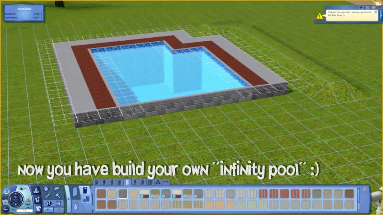 The Sims 3 Tutorial Pool Tricks Chrillsims3 Youtube