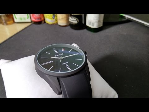 Unboxing and co - Montre Comtex