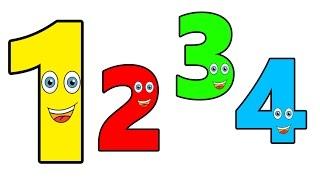 Ensinando os números para crianças - Teaching numbers to kids