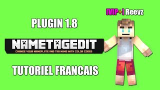 Plugin Bukkit: NameTagEdit Tutoriel Francais version 1.8.0