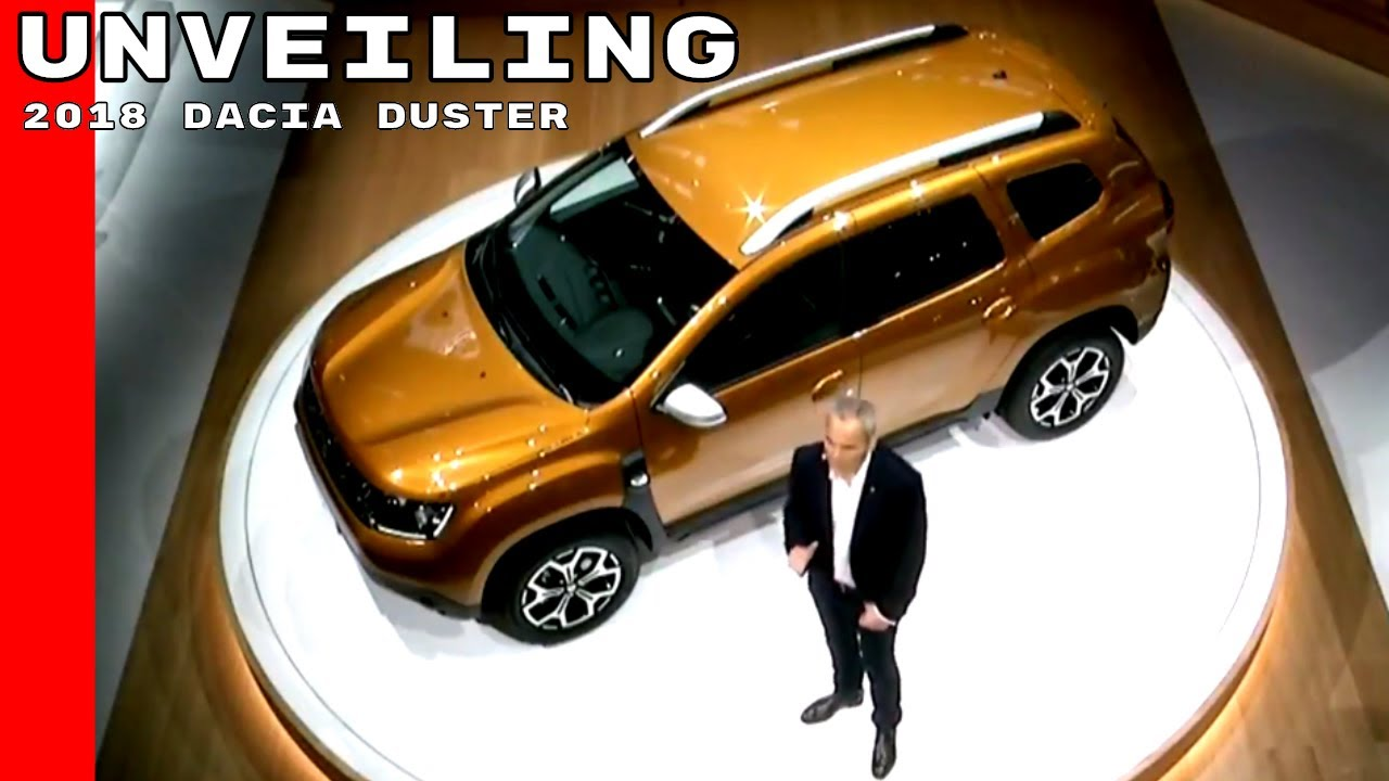 2018 renault duster unveiled.  duster 2018 dacia duster unveiling inside renault duster unveiled