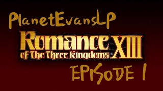 Romance of the Three Kingdoms XIII Ep. 1 (OFFICER CREATION)