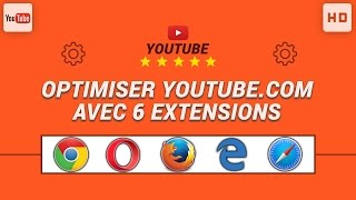 Optimiser Youtube.com avec 6 extensions très pratiques (Chrome/Firefox)