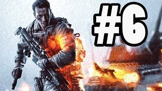 Battlefield 4 Gameplay Walkthrough - Campaign Mission - Escape and Reach the Tram (BF4)