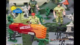 Домашние сражения игрушек  ↑ Военные солдатики,  нёрфы, машины, игры ↑ Обзор игрушек