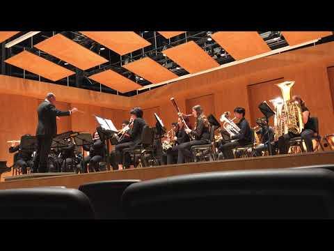 John W North High School Wind Symphony Bayou breakdown