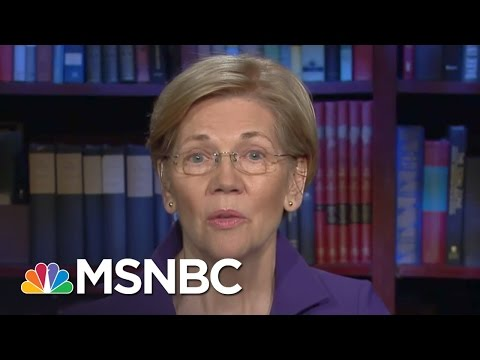 Thumbnail: Elizabeth Warren: James Comey Was Fired Because Of The Russians | All In | MSNBC