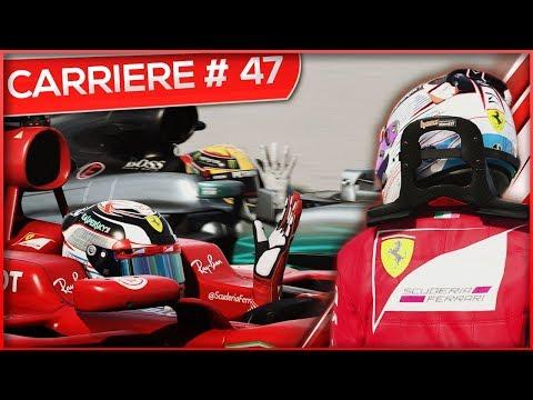 ENORME BATAILLE AVEC HAMILTON ! - F1 2017 #47 (FR)