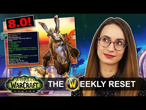 Equip THREE Legendaries in 7.3.2! New Titan Trinkets Explained: World Of Warcraft Legion News
