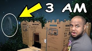 3 AM DO NOT SLEEP IN BOX FORT!!