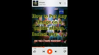 Add images to your music album & convert audios m4a into mp3 TAG EDITOR