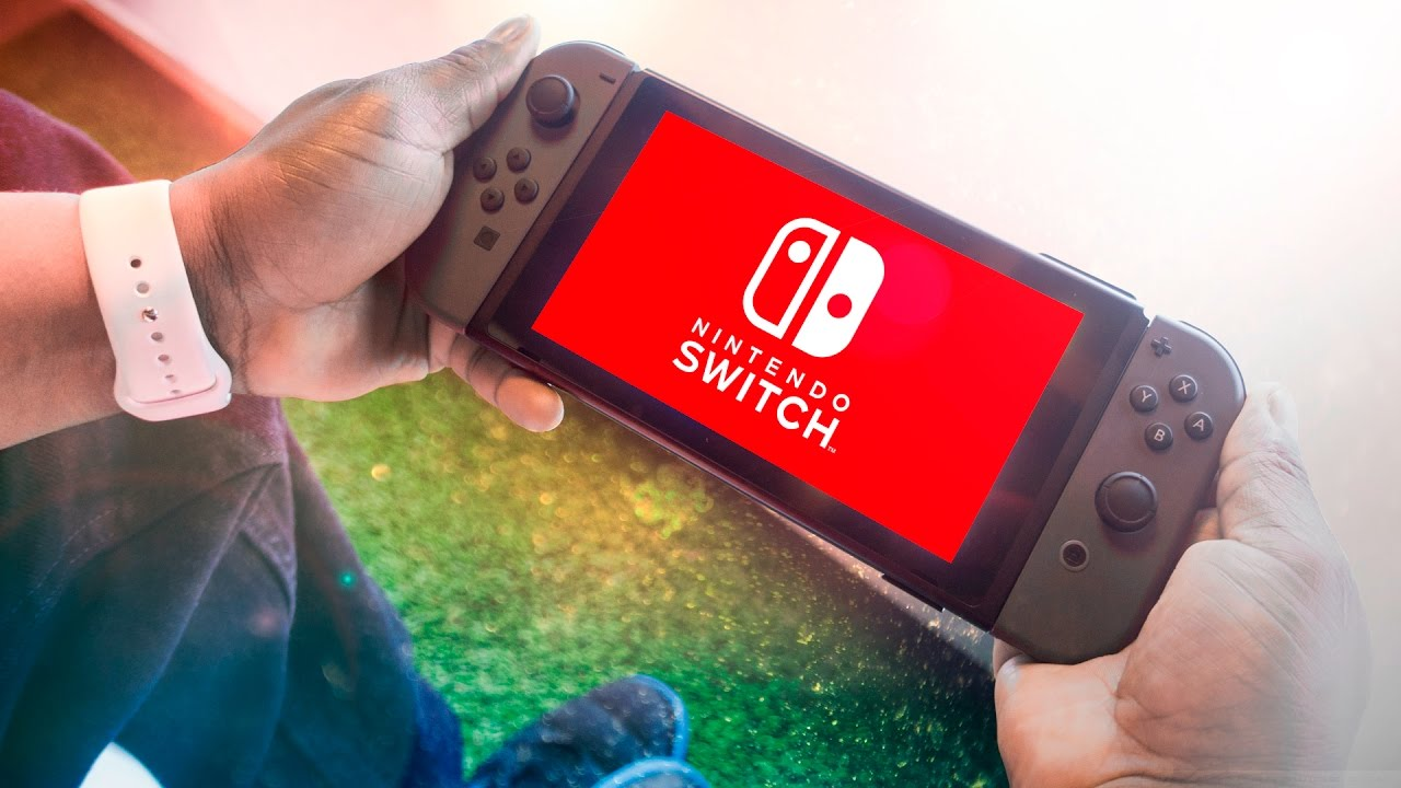 Trying the Nintendo Switch