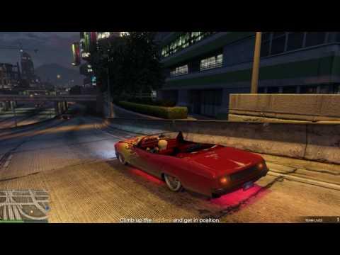 Gta  5 online mision  - The parking garage [HARD]
