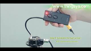 Vehicle GPS Trackers' TS-C11 Fuel Sensor Installation Video by THINGSYS