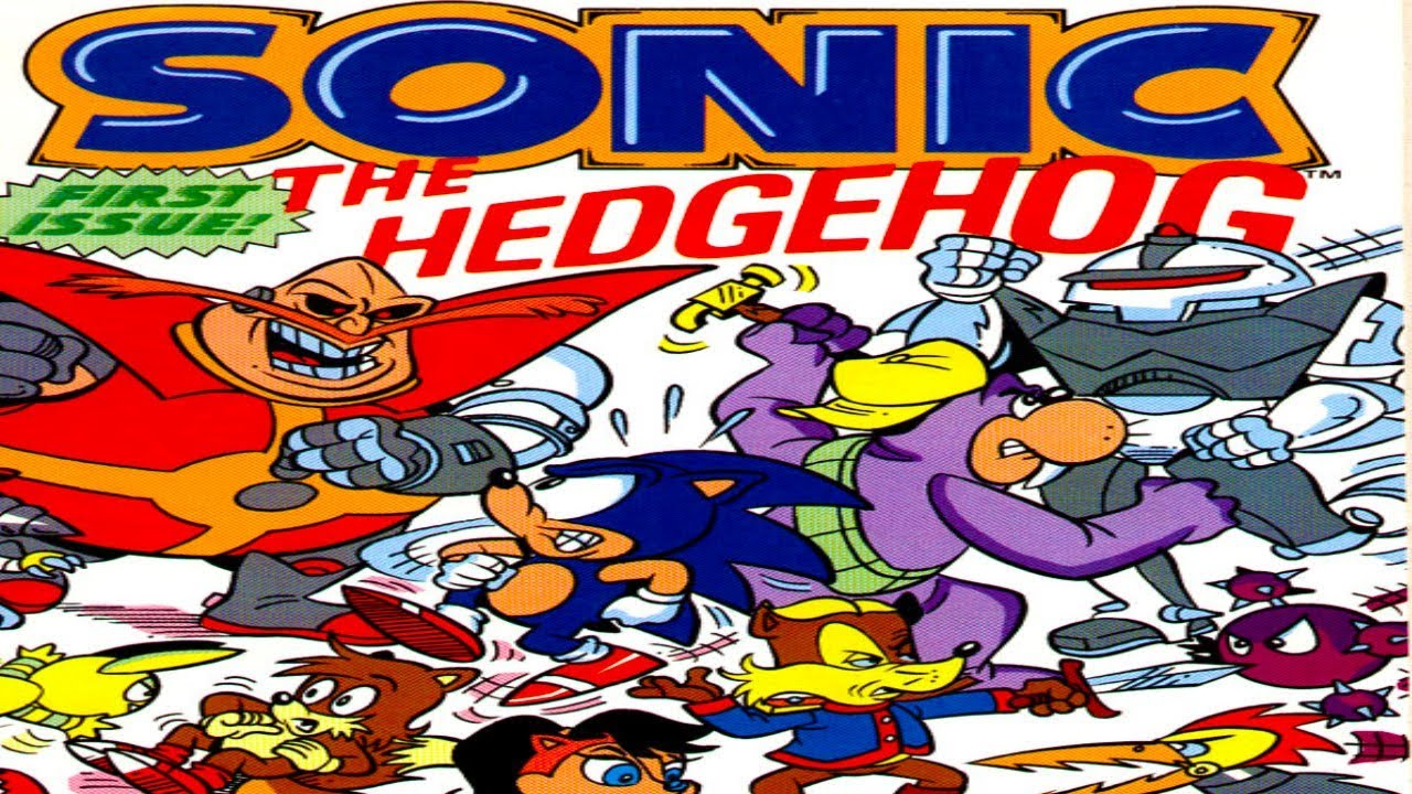 Sonic The Hedgehog Issue 1 Archie Comic Review Youtube
