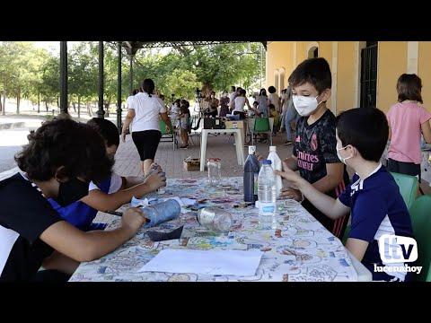 VÍDEO: 60 niños participan este año en los tres turnos de la ludoteca del Aula de la Naturaleza