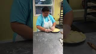 Village Pie Maker - Crimping a Pie Crust
