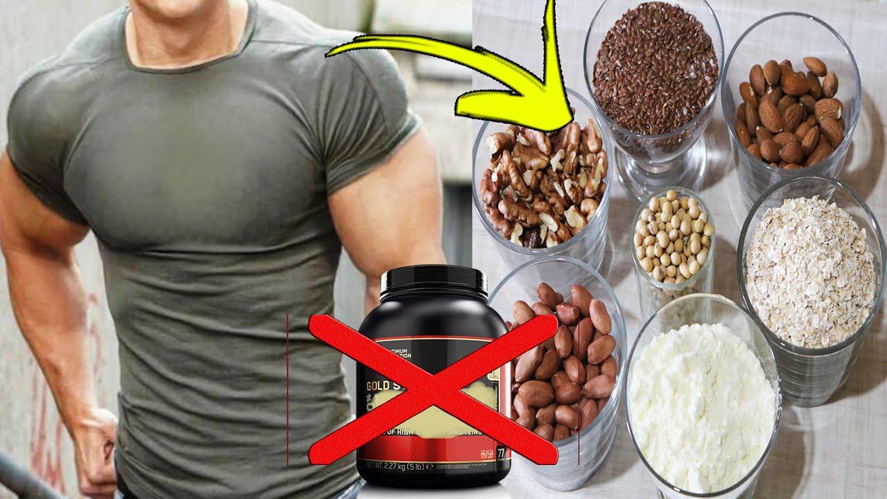 لن تشتري البروتين بعد اليوم ضخم عضلاتك ببروتين طبيعي منزلي يقوي العضلات النائمة لديك وتجعلها ضخمة