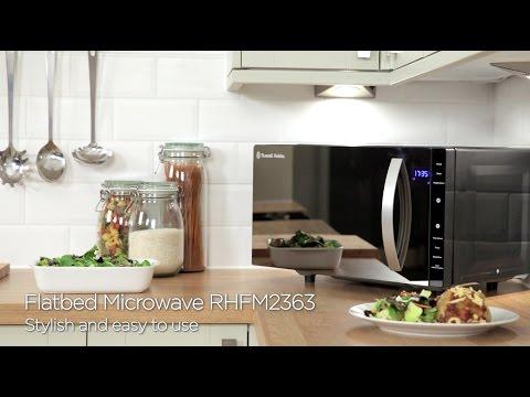 RHFM2363B/S Russell Hobbs Flatbed Microwave