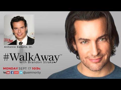 #WalkAway with Brandon Straka | Antonio Sabato, Jr.