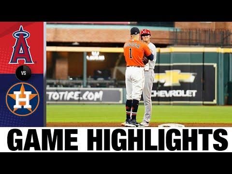 Angels vs. Astros Game Highlights (9/10/21)   MLB Highlights  