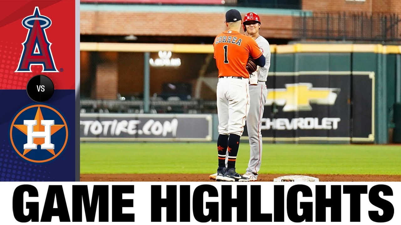Download Angels vs. Astros Game Highlights (9/10/21) | MLB Highlights