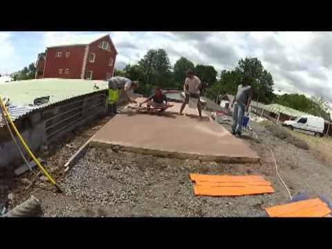Beton empreinte youtube - Lissarde a beton ...
