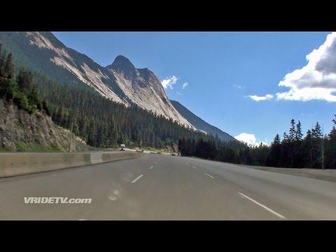 Coquihalla Highway. Hope to Merritt British Columbia.