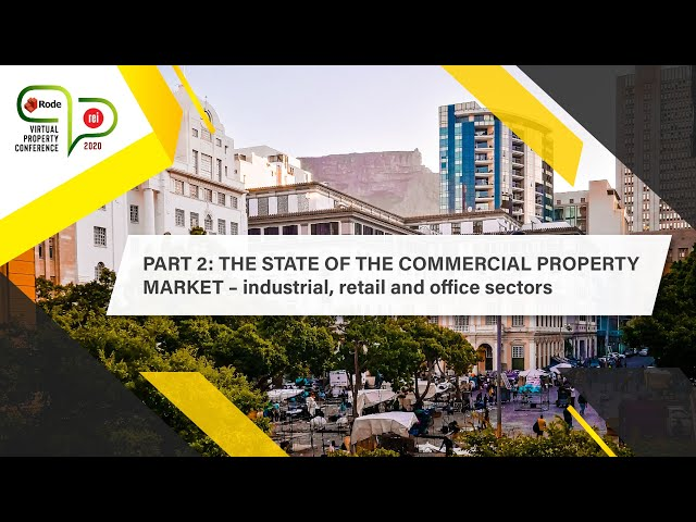 #1 REI RODE Part 2 | The state of the South African commercial property market