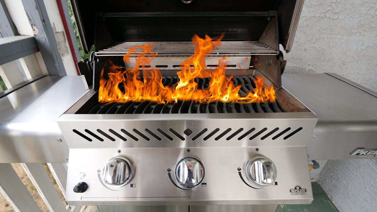 How to Light a Gas Grill SAFELY